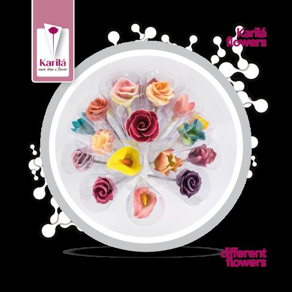 Karila flower – chocolate flower – different flowers